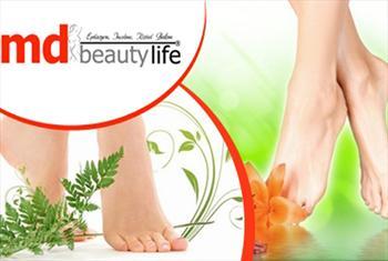 �i�li MD Beauty Life'ta �yon Ayak Detoksu Uygulamas� 50 TL yerine 11,90 TL