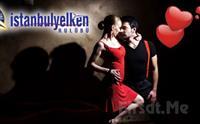 �stanbul Yelken Kul�b� Sevgililer G�n�ne �zel Tango Dans G�sterimi E�li�inde Ak�am Yeme�i + 2 Yerli ��ecek F�rsat� Sadece 95 TL!