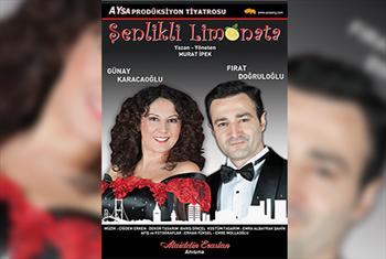Bir kad�n ve Bir erkek denince akl�n�za ne gelirse? �enlikli Limonata tiyatro oyununa biletler 50 TL yerine 28 TL!