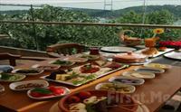 Rumeli Hisar� Seyir Terrace Restaurant'ta Muhte�em Bo�az Manzaras� E�li�inde Serpme Kahvalt� Keyfi 24.90 TL'den Ba�layan Fiyatlarla!