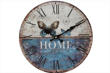 Evinize ��kl�k Katacak Vintage Duvar Saatleri Farkl� Desen Se�enekleriyle 40 TL Yerine 13,90 TL!
