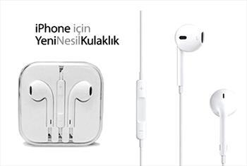 Iphone i�in Tasarlanm�� Yeni Nesil Kulakl�klar Renk Se�enekleriyle 49 TL Yerine 9,90 TL!