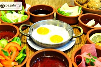 Zeytinburnu Pa�a F�r�n�'nda lezzetine doyamayaca��n�z tek ki�ilik serpme kahvalt� men�s� 23 TL yerine 13 TL!