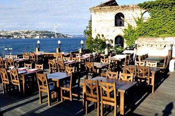 Kuzguncuk Vira Restaurant'ta Bo�az'a Naz�r Serpme Kahvalt� 19 TL