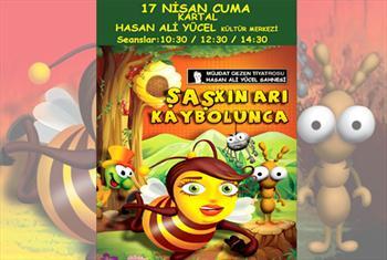 M�zikli ve Dansl� Bir Komedi! �a�k� Ar� Kaybolunca �ocuk Oyununa Biletler 20 TL Yerine 12,50 TL !