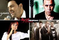 Beyrut Performance Sahnesi'ndeki Ya�ar,Sel�uk Balc�, Haluk Levent,Yeni T�rk�,Leman Sam,Gripin,Y�ksek Sadakat,Cem Adrian,Halil Sezai,Sibel Ala�...