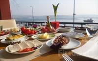 Bo�aza S�f�r Beykoz Deep Blue Restaurant'ta S�n�rs�z �ay E�li�inde Zengin Kahvalt� Taba�� 25 TL Yerine Sadece 14.90 TL!
