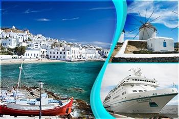 Bamtur'dan Vizesiz Be� G�nl�k Ultra Her �ey Dahil Atina Mykonos Cruise Gezisi 599 TL!