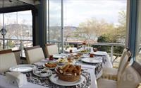 Bo�az Manzaral� Aybal�k Restaurant Kuru�e�me'de S�n�rs�z �ay E�li�inde Serpme Kahvalt� Keyfi 35 TL yerine Sadece 24.90 TL!