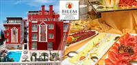 Antalya Bilem High Class Hotel'de Açik Büfe Kahvalti!