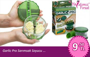 Sar�msaklar Soyuldu ...! Garlic Pro Sar�msak Soyucu ve Do�ray�c� Sadece 9,50TL... (15.05.2012)