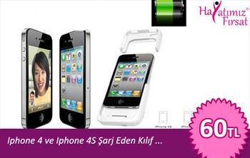 Telefonunuzun �arj� Hi� Bitmesin ... Iphone 4 ve Iphone 4S Kulllan�c�lar�na �arj Eden K�l�f hayatimizfirsat.com Ayr�cal��� ile Sadece 60,00 TL'ye...