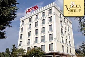 Kartal Villa Vanilla Hotel'de �ift Ki�ilik Konaklama, A��k B�fe Kahvalt� 260 TL Yerine 119 TL!