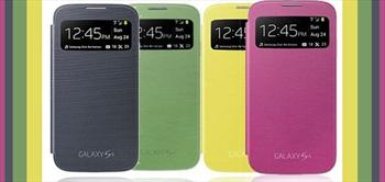 Mobile World Galaxy S4 Flip Cover �le Telefonun G�vende!