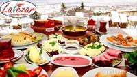 Muhtesem Manzara E�li�inde Serpme Kahvalt� Keyfi Lalezer Cafe & Restaurant'ta !