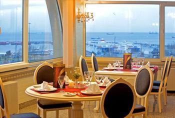 Yenikap� Marmaray Otel'de Bo�aza Naz�r Enfes A��k B�fe Kahvalt� Keyfi 40 TL Yerine 16,90 TL!