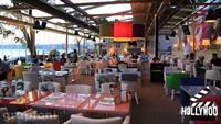 Deniz Manzaras� E�li�inde Huzur Bulaca��n�z Cafe Hollywood City'de Levrek Veya �ipura Men� 32 TL!