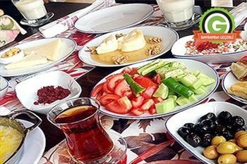 �ahin Tepesi K�r Bah�esi'nde 2 Ki�ilik Bo�nak Kahvalt�s� 24,90 TL