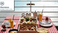 Sheraton Ataköy Cook Book Restaurant'ta Deniz Manzarasına Karşı 2 Kişilik Kahvaltı Keyfi!