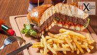 Mecidiyeköy Et-X Steak House'da Bildiklerinizi Unutturacak Efsane Burger Menü!