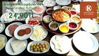 Esenyurt Karagözler Et & Izgara'da Lezzetli Serpme Kahvaltı Keyfi!