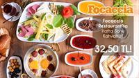 Giyimkent Focaccia Restaurant'ta Sınırsız Çay Eşliğinde Keyifli Hafta Sonu Kahvaltısı!