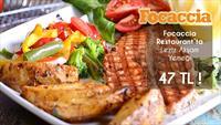 Giyimkent Focaccia Restaurant'ta Her Damak Tadına Uygun Yemek Menüleri!