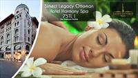 Sirkeci Legacy Ottoman Hotel Harmony Spa'da Masaj Keyfi ve Spa Kullanımı!