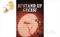 Usta Komedyenlerden Her Cumartesi Eğlence Dolu 'Bi'Stand Up Gecesi' Gösteri Bileti 40 TL yerine 20 TL