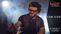 Türk Blues Sanatçısı Can Gox 8 Şubat'ta Kartal Beyrut Performance Sahne'de!
