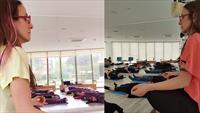 İstanbul Medikal Termal'de Türkiye'nin Tek Yoga Diplomalı Eğitmeni Naciye Arduç İle Yoga Ve Nefes Terapisi!