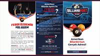 Türkiye'nin En Kaliteli Pool (Amerikan) Bilardo Klübü Billiardport'ta Bilardo Eğitimi!