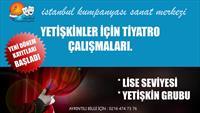 İstanbul Kumpanyası - Sanat Akademisi'nden 1 Aylık Yetişkin Meslek Üstü Tiyatro Eğitimi !