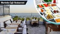 Sahura Özel Sultanahmet Marbella Cafe Restaurant'ta Kahvaltı Keyfi!