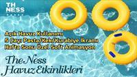 Kocaeli The Ness Hotel'de Animasyonlar Dahil Gün Boyu Açık Havuz Kullanımı!