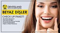 Dentisland Bakırköy ve Kadıköy Şubelerinde Geçerli Diş Beyazlatma Check Up Paketi!