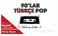 Beyrut Performance Kartal Sahne'de 29 Şubat'ta Mansur Ark Ragga Oktay Dj Özge Tığlı ile 90'lar Türkçe Pop Fest Giriş Bileti 56 TL yerine 28 TL'den...