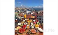 Süleymaniye Şehr-i Saadet Cafe'de Deniz Manzarası Eşliğinde Serpme Kahvaltı Keyfi 33 TL yerine 25.90 TL