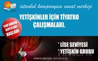 İstanbul Kumpanya'sından Yetişkinler İçin Meslek Üstü Tiyatro Eğitimi 400 TL yerine Sadece 129.90 TL
