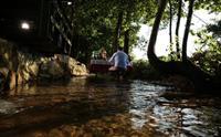 Saklı Cennet Maşukiye Irmak Alabalık'da Odun Fırınında Kiremitte Alabalık veya Köfte Menüleri 35 TL yerine 28 TL'den Başlayan Fiyatlarla
