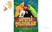1001 Sanat'tan NEŞELİ ÇILGINLAR Çocuk Tiyatro Oyun Bileti 29 TL Yerine 20 TL