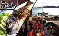 Salacak Cafe 5. Cadde'de Deniz Kenarında Kız Kulesi Manzaralı Romantik Bir Akşam Yemeği 107.50 TL Yerine Sadece 39.50 TL'den Başlayan Fiyatlarla