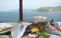Muhteşem Boğaz Manzarası eşliğinde Leziz Tatlardan Oluşan 2 Kişilik Balık veya Köfte Menü 200 TL yerine 150 TL