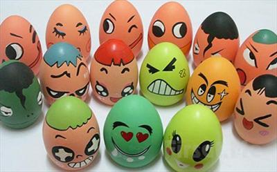 çocuklarınızın El Becerisini Ilerleteceği Yumurta Boyama Seti 49 Tl