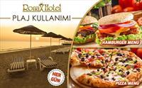 Kumburgaz Ronax Hotel'de Tüm Gün Plaj Kullanımı, Şezlong, Öğle Yemeği, 1 Adet Meşrubat 129 TL Yerine Sadece 69 TL (Haftanın Her Günü Geçerli)