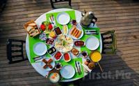 Polonezköy Cumhuriyetköy Keyf-i Mekan'da Sahanda Yumurta, Menemen Eşliğinde Serpme Köy Kahvaltısı 50 TL yerine Sadece 34.90 TL