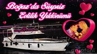 Boğazda Yat Turu ve Size Özel Yemek ile Romantik Yıldönümü Organizasyonu!
