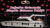 Boğazda Yat Turu ve Lazer Gösterisi Eşliğinde Unutulmayacak Evlilik Teklifi Organizasyonu!