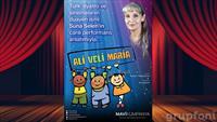Türk Tiyatrosu'nun Usta İsmi Suna Selen'in Canlı Performans Anlatımıyla Ali Veli Maria Çocuk Oyunu Kaçmaz!